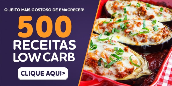 Banner: 500 Receitas Low Carb